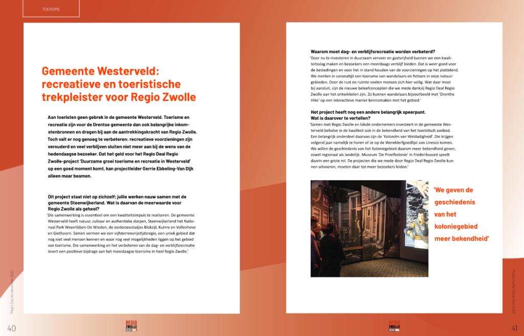 Pagina uit Regio Zwolle glossy