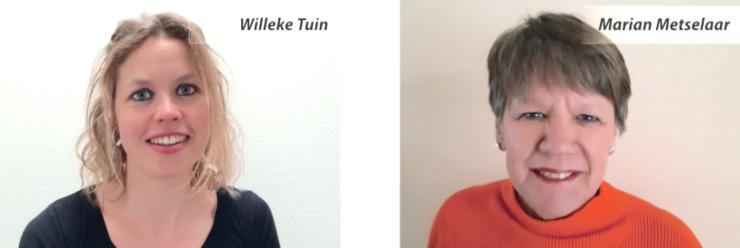 Willeke Tuin en Marian Metselaar